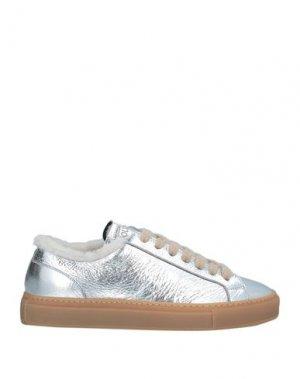 Кеды и кроссовки DOUCAL'S. Цвет: серебристый