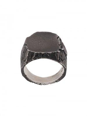 Фактурный перстень Nove25. Цвет: серебристый