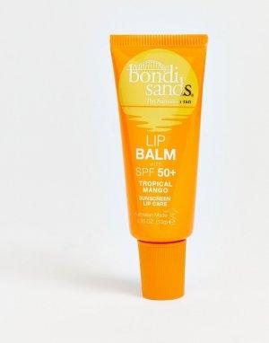 Бальзам для губ с SPF 50+ и ароматом манго , 10 г-Бесцветный Bondi Sands