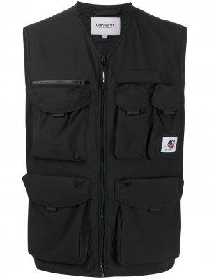 Жилет Hayes с накладными карманами Carhartt WIP. Цвет: черный
