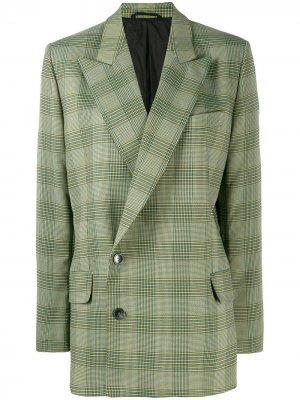 Пиджак на пуговицах A.F.Vandevorst. Цвет: зеленый