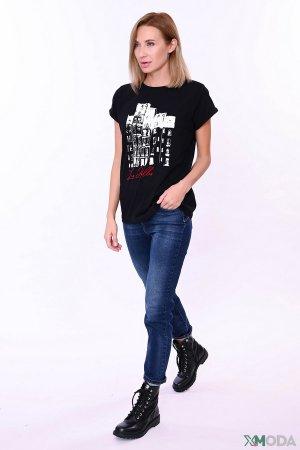 Брюки Liu-Jo Jeans. Цвет: синий