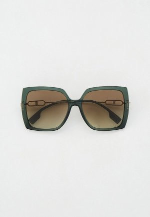 Очки солнцезащитные Burberry BE4332 37818E. Цвет: зеленый