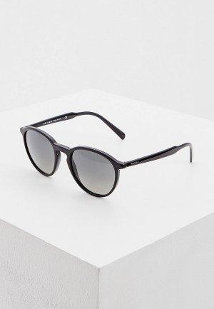 Очки солнцезащитные Prada 0PR 05XS 1AB2D0. Цвет: черный