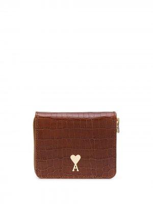 Маленький кошелек Ami De Coeur Paris. Цвет: коричневый