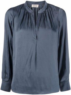 Блузка-туника Zadig&Voltaire. Цвет: синий