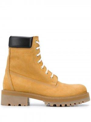 Ботинки New Trucker VETEMENTS. Цвет: коричневый
