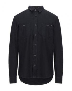 Pубашка EDWIN. Цвет: черный