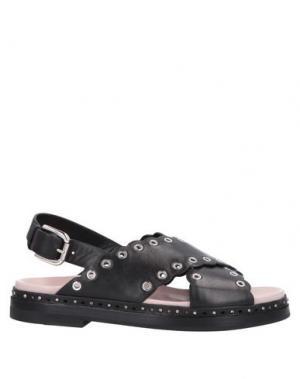 Домашние туфли PREMIATA. Цвет: черный