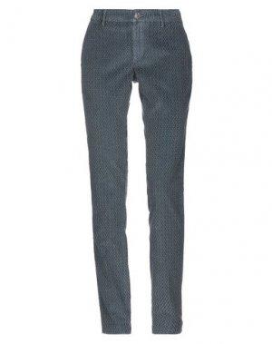 Повседневные брюки MAISON CLOCHARD. Цвет: грифельно-синий