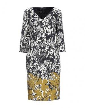 Платье до колена LAURÈL. Цвет: черный