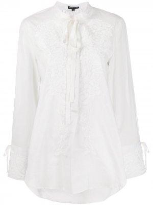 Floral embroidered blouse Ann Demeulemeester. Цвет: белый