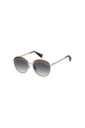Солнцезащитные очки Marc Jacobs. Цвет: золотой