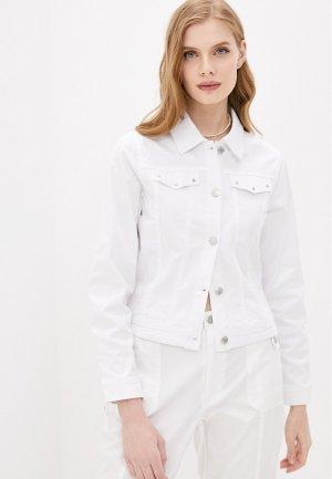 Куртка джинсовая Micha. Цвет: белый