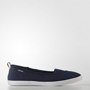 Балетки Cloudfoam QT Vulc Slip-On Performance adidas. Цвет: белый