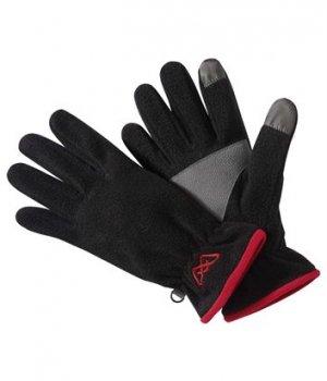 Тактильные Перчатки из Флиса Atlas For Men. Цвет: черный