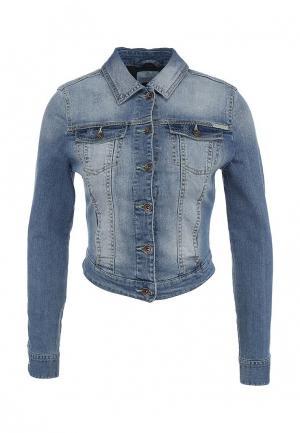 Куртка джинсовая Concept Club. Цвет: синий