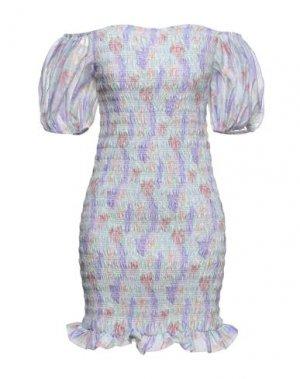 Короткое платье GLAMOROUS. Цвет: светло-зеленый