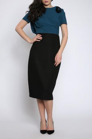 Платье Collezione di Ines. Цвет: зеленый