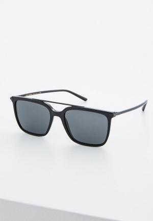 Очки солнцезащитные Dolce&Gabbana DG4318 501/87. Цвет: черный