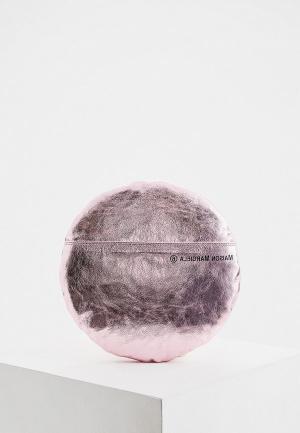 Клатч MM6 Maison Margiela. Цвет: розовый