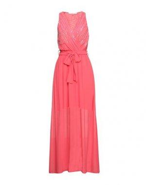 Длинное платье GAUDÌ. Цвет: фуксия