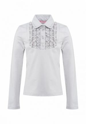 Блуза Красавушка. Цвет: серый