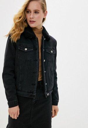 Куртка джинсовая Tom Farr. Цвет: серый
