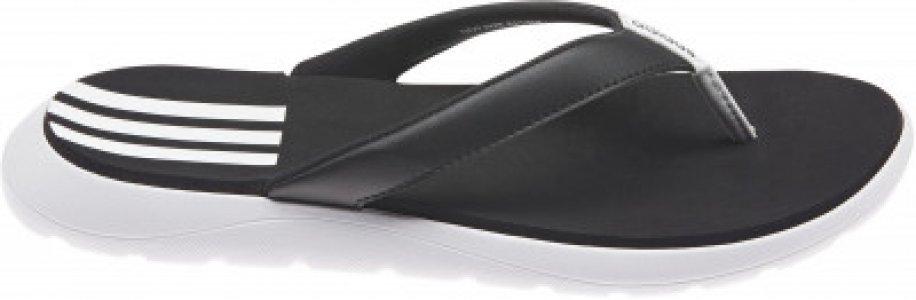 Шлепанцы женские adidas Comfort Flip Flop, размер 40.5. Цвет: черный