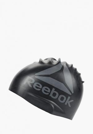 Шапочка для плавания Reebok SWIM U CAP. Цвет: черный