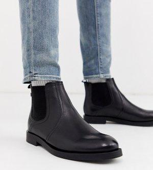 Черные ботинки челси для широкой стопы Rosetti-Черный Base London