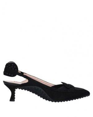 Туфли ALESSANDRO DELL'ACQUA x TOD'S. Цвет: черный