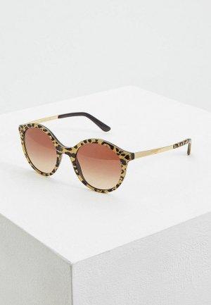 Очки солнцезащитные Dolce&Gabbana DG4358 320813. Цвет: желтый