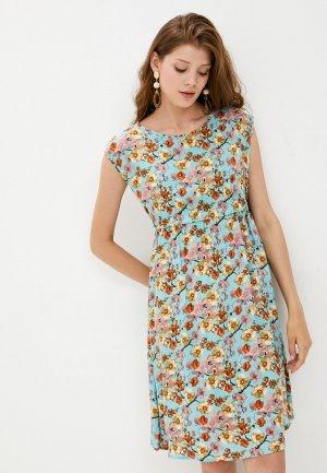 Платье Fest. Цвет: голубой