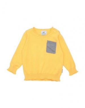 Свитер HENRY COTTON'S. Цвет: желтый