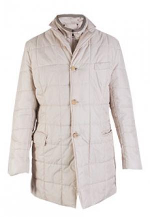 Куртка FONTANELLI. Цвет: бежевый
