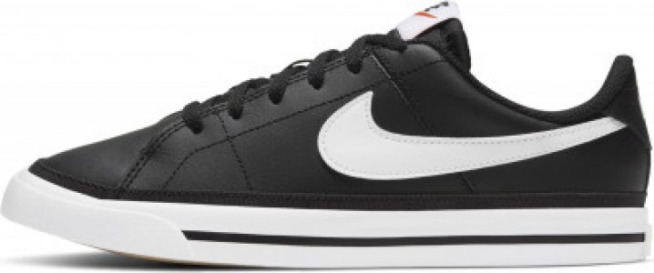 Кеды детские Court Legacy (Gs), размер 39 Nike. Цвет: черный