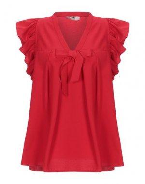 Блузка LAB ANNA RACHELE. Цвет: красный