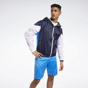 Спортивная куртка MYT Reebok. Цвет: vector navy