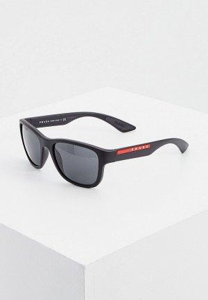 Очки солнцезащитные Prada Linea Rossa PS 01US DG05S0. Цвет: черный