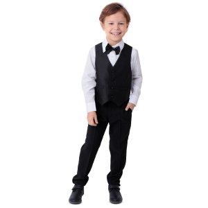 Комплект брюки/жилет/сорочка/галстук-бабочка Rodeng