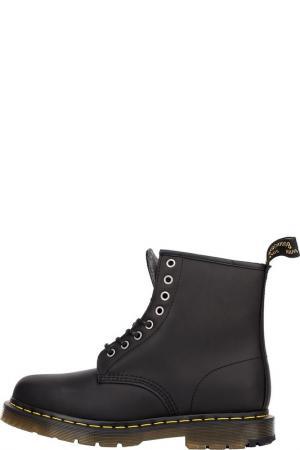 Ботинки DR MARTENS. Цвет: черный