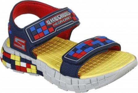 Сандалии для мальчиков Mega_Craft, размер 30 Skechers. Цвет: синий