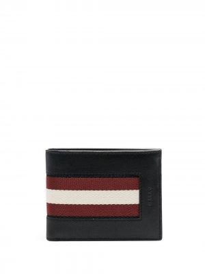 Бумажник Bevye Bally. Цвет: черный
