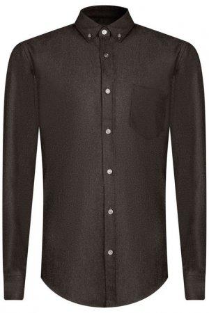 Рубашка H.BOSS. Цвет: серый