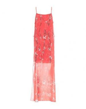 Длинное платье CARLO PIGNATELLI. Цвет: красный