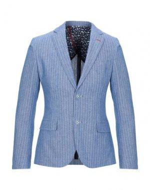 Пиджак GAUDÌ. Цвет: синий