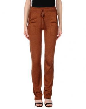 Повседневные брюки ATTIC AND BARN. Цвет: коричневый