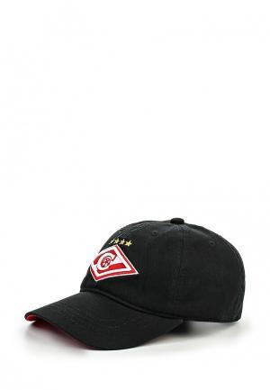 Бейсболка Atributika & Club™ FC Spartak. Цвет: черный