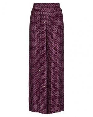 Повседневные брюки ATTIC AND BARN. Цвет: розовато-лиловый